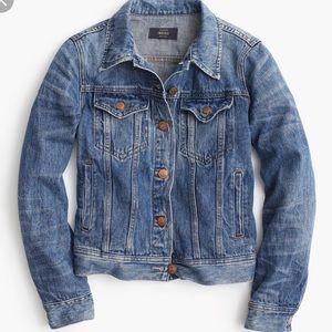 J. Crew Jackets & Coats - J crew indigo denim jean jacket XS